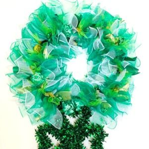 Handcrafted St. Patrick's Day Wreath
